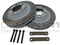 Brake Disc UPGRADE to 350mm Package Porsche 996C4S / 996 Turbo
