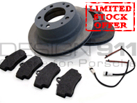 Brake Pads and Brake Disc Package. Porsche 911 3.2L 1984-89