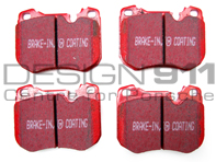 EBC RED Stuff Brake Pads 'Fast Street' (OE Ref 94435195102)