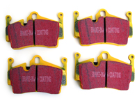 EBC YELLOW Stuff Brake Pads 'Track'