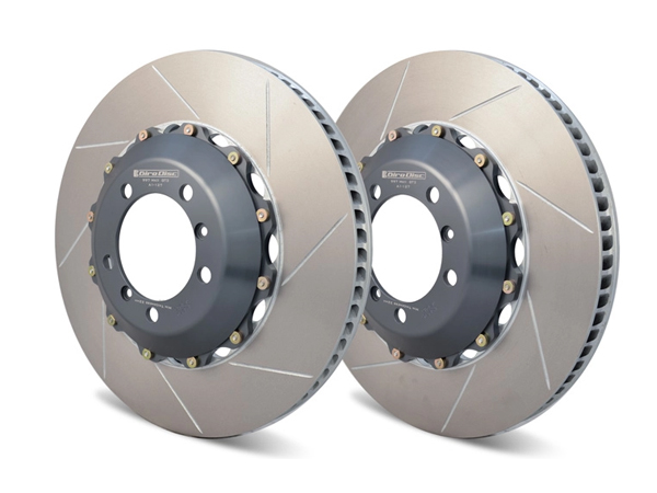 Rear Drilled Slotted Brake Rotors For Porsche 718 Boxster Cayman