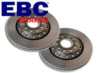 EBC Standard Brake Discs FRONT. Porsche 911 >>1983 / 912 / 914 / 924 / 944   D141