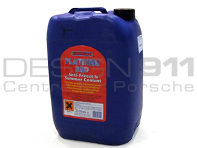 Coolant / Antifreeze 25Ltr Garage Bottle - Long Life 5 Year Red For Porsche Cars