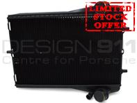 Radiator for Water Coolant Fluid. Porsche 996 Turbo / 996 C4S / 997 Turbo (Part No. 99610613174 / 99610613272)