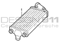 Radiator Water Inter Cooler Left Porsche 997 Gen1 Turbo