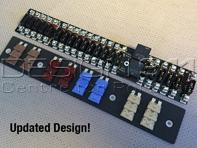 fuse rack 21 way fuse panel with led fuse failure indicators porsche 911  1974-89 classic retrofit