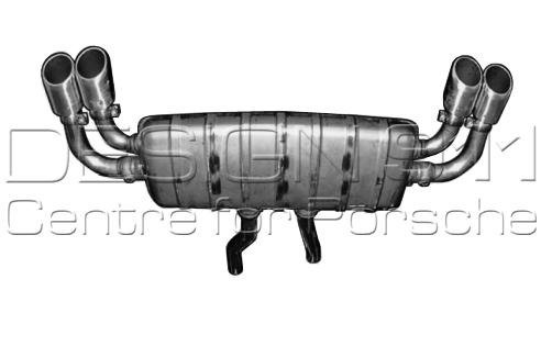 Porsche Cayenne Sports Exhaust System 95804420000