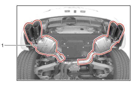 Porsche Macan Sport Exhaust System 95b04420019 95b04420020