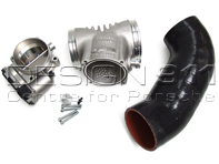 "Aluminum Intake Plenum ""Competition"" 82MM + Throttle Body Porsche 996 Carrera 3.6L IPD"
