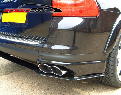 Rear Lower Diffuser Titan Speedart Porsche 955 Cayenne