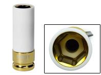 "Sealey Alloy Wheel Impact Socket 19mm 1/2""Sq Drive"