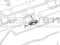 Spark Plug Sealing Ring. Porsche 944 S / 994 S2 / 968 / 928 S4 / 928 GT