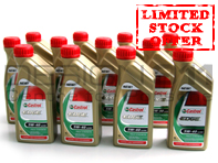 Castrol Edge Engine Oil 5W/40 - 12 Bottles x 1LTR