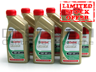 Castrol Edge Engine Oil 5W/40 - 6 Bottles x 1LTR