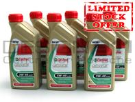 Castrol Edge Engine Oil 5W/40 - 6 Bottles x 1LTR