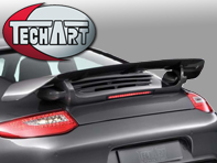 TechArt Rear Spoiler Type IV. Porsche 997 Carrera